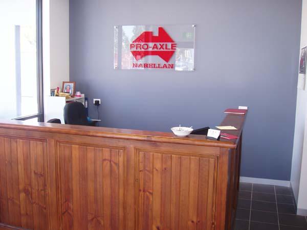 Inside the Narellan Office Pro-Axle Australia 1