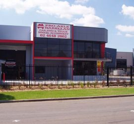 Outside the Narellan Office Pro-Axle Australia 1