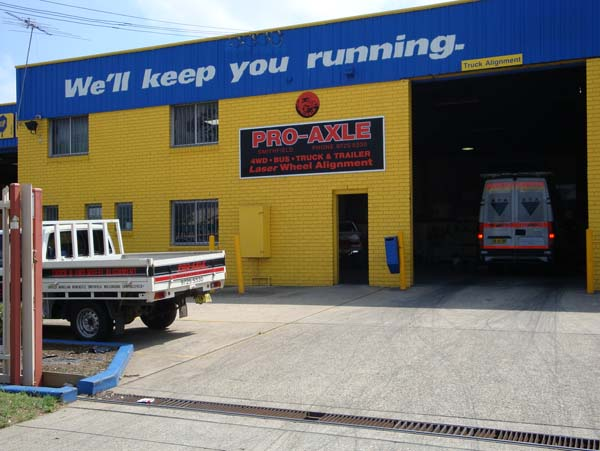 Outside Smithfield Pro-Axle Australia 1