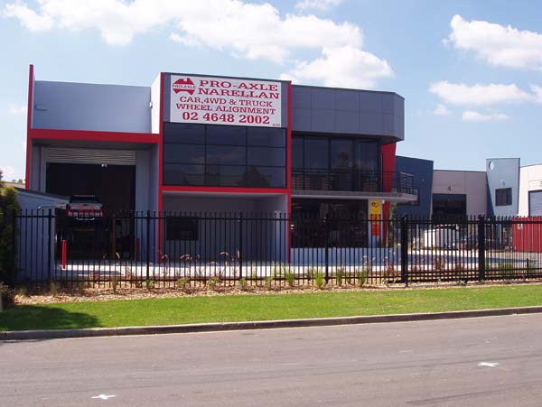 Outside the Narellan Office Pro-Axle Australia 1