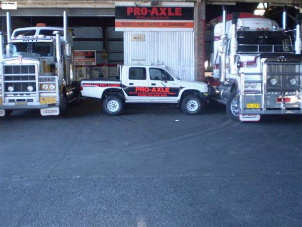 Trucks 4WD and Ute Wheel Alignment