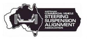 Australian Commercial Vehicle Steering Suspension Alignment Association (ACVSSAA) Logo
